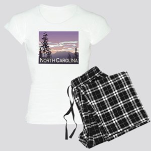 North Carolina Mountains Women's Light Pajamas