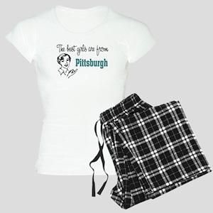 Best Girls Pittsburgh Women's Light Pajamas