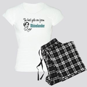 Best Girls Rhinelander Women's Light Pajamas