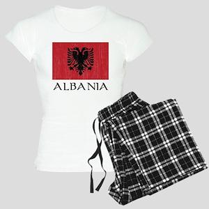 Albania Flag Women's Light Pajamas