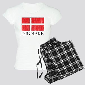 Denmark Flag Women's Light Pajamas