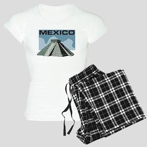 Mexico Pyramid Women's Light Pajamas