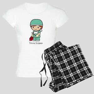 Future Surgeon boy Women's Light Pajamas