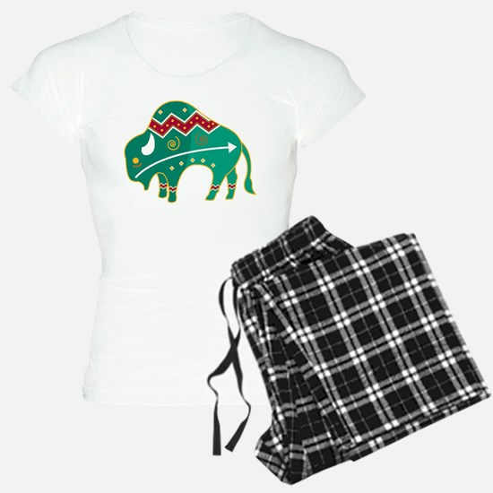 Indian Spirit Buffalo Pajamas