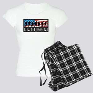Support our troops - Infantry Women's Light Pajama