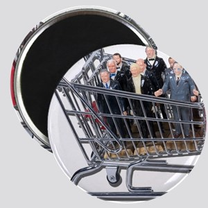 Shopping for Support Team Magnet