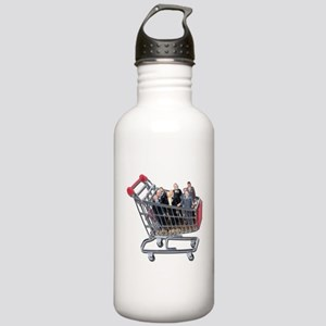 Shopping for Support Team Stainless Water Bottle 1