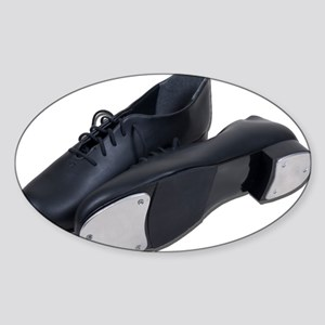 Tap Shoes Sticker (Oval)