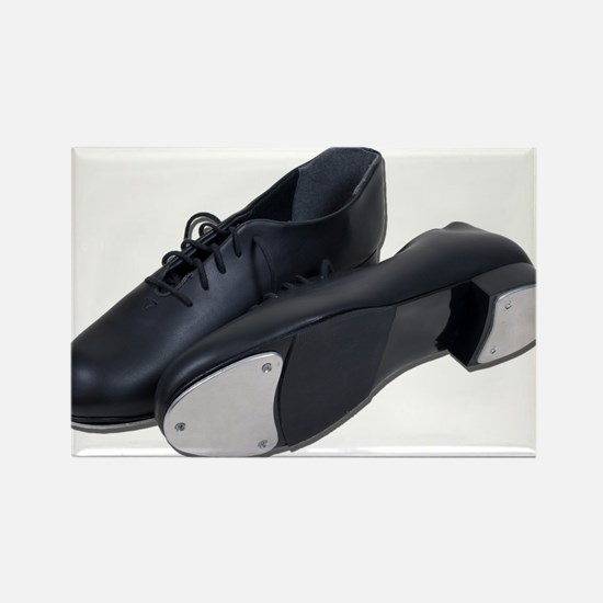 Tap Shoes Rectangle Magnet