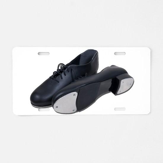 Tap Shoes Aluminum License Plate
