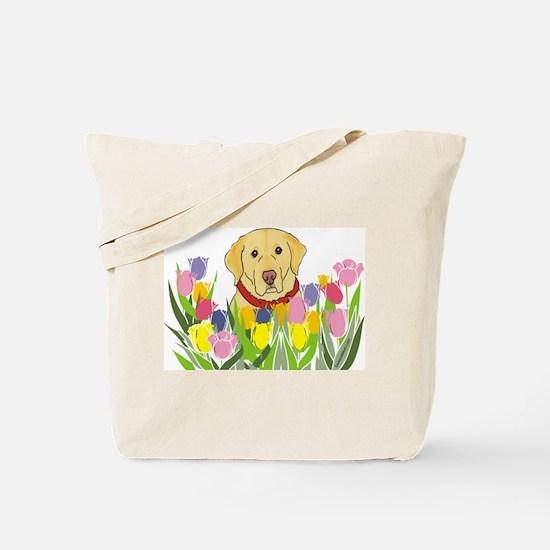 Yellow Lab Tote Bag