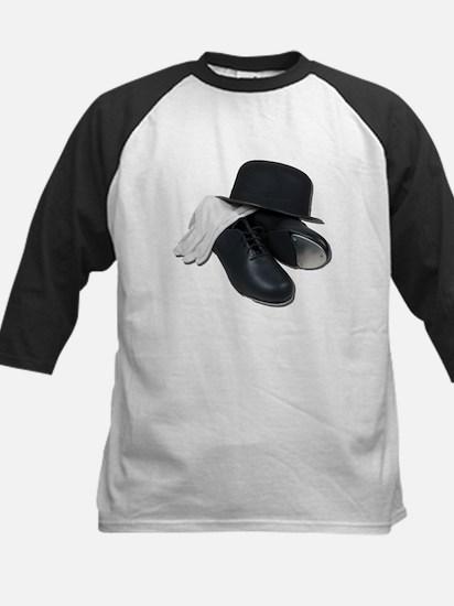 Tap Shoes Bowler Hat Gloves Kids Baseball Jersey