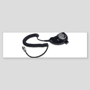 Teardrop Microphone Cable Sticker (Bumper)