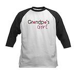 Grandpa's Girl Kids Baseball Jersey