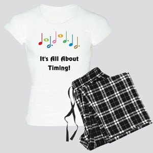 Musical Timing Women's Light Pajamas