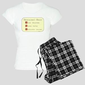 Geocacher's Creed Women's Light Pajamas