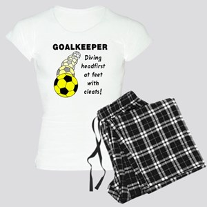 Soccer Goalkeeper Women's Light Pajamas