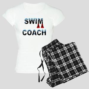 Swim Coach Black Women's Light Pajamas