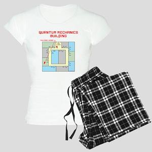 Quantum Mechanics Building Women's Light Pajamas