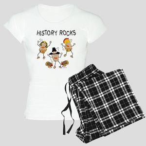 History Rocks Women's Light Pajamas