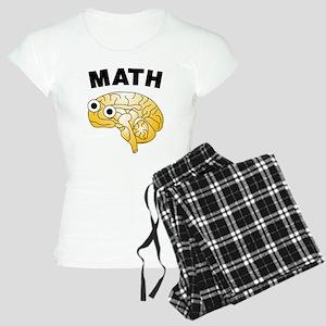 Math Brain Women's Light Pajamas