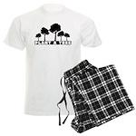 Plant Tree Men's Light Pajamas