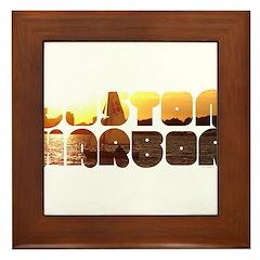 BOSTON HARBOR Framed Tile