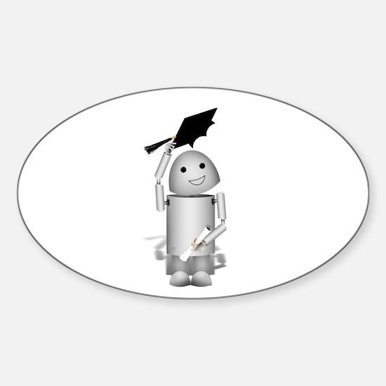 Unique Robotics class Sticker (Oval)