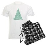 Scribble Tree Men's Light Pajamas