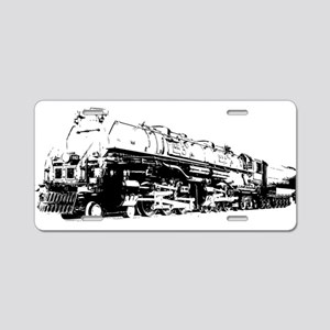 VINTAGE TOY TRAIN Aluminum License Plate