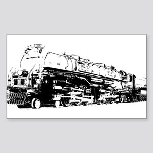 VINTAGE TOY TRAIN Sticker (Rectangle)