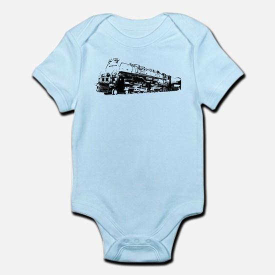 VINTAGE TOY TRAIN Infant Bodysuit