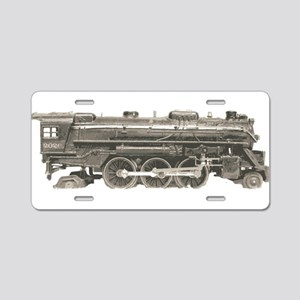 VINTAGE TRAIN TOYS Aluminum License Plate