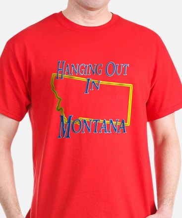 Hanging Out in MT T-Shirt