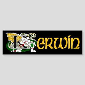 Kerwin Celtic Dragon Bumper Sticker