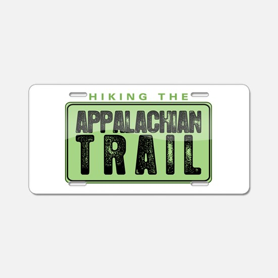 Hiking the Appalachian Trail Aluminum License Plat