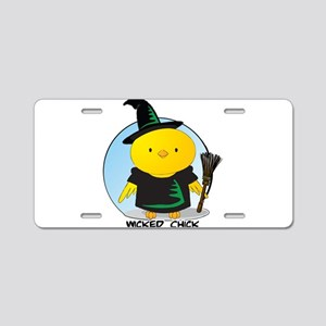Wicked Chick Aluminum License Plate