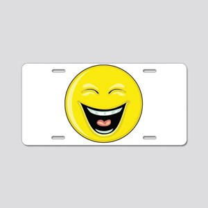 "Smiley Face - ""LOL"" Laughing Aluminum License Plat"