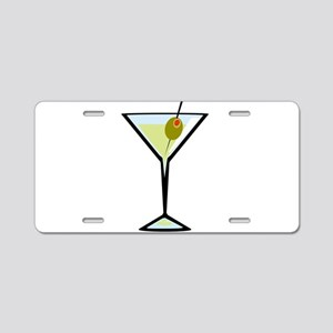 Dirty Martini Aluminum License Plate