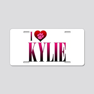 I Heart Kylie Aluminum License Plate