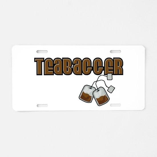 Teabagger Aluminum License Plate