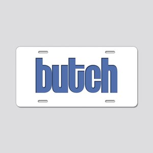 Butch Aluminum License Plate