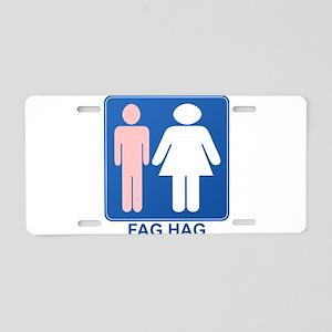 FAG HAG Sign Aluminum License Plate