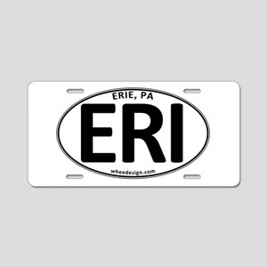 Oval ERI Aluminum License Plate