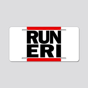 RUN ERI Aluminum License Plate
