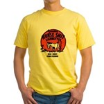Horse Shit Cigarettes Yellow T-Shirt