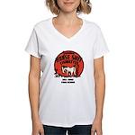 Horse Shit Cigarettes Women's V-Neck T-Shirt