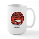 Horse Shit Cigarettes Large Mug