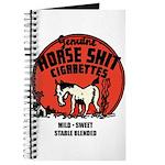 Horse Shit Cigarettes Journal