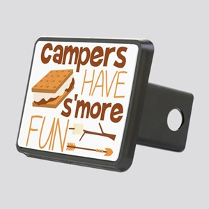 Campers Have S'more Fun Rectangular Hitch Cove